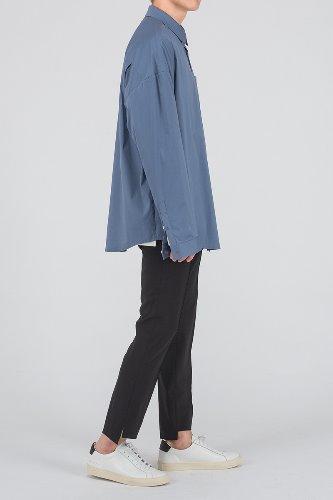 [SALE] 아이스 블루 오버핏 셔츠